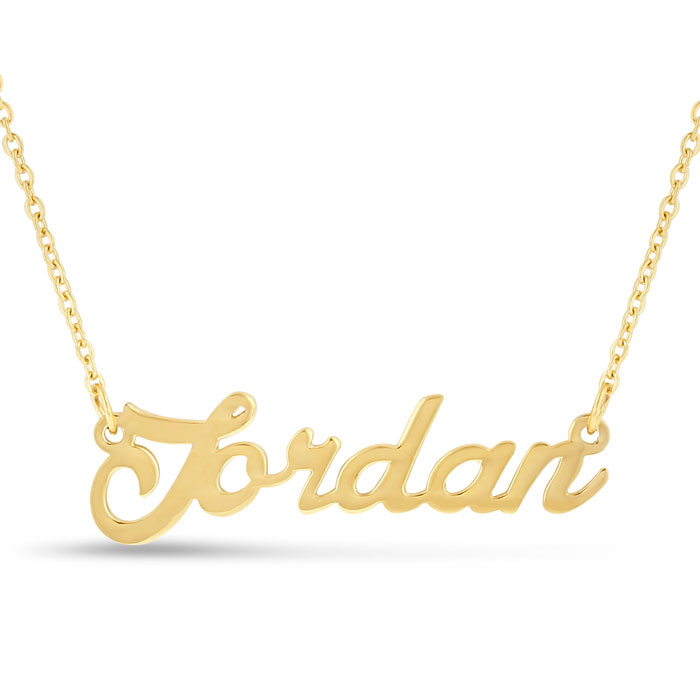 index name nameplate item jwl com details number gold necklace in plate superjeweler emily