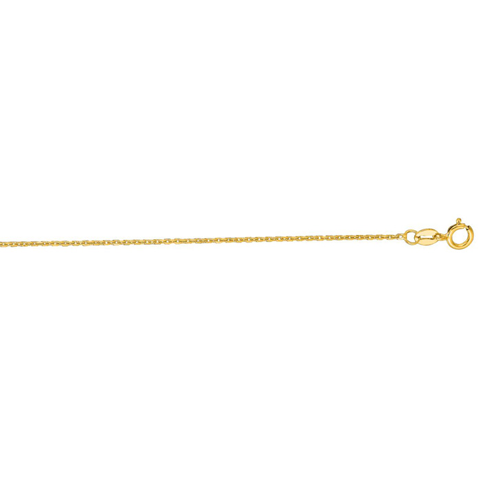 Link Cable Chain Necklace 14k Yellow 18 inches by Royal Chain