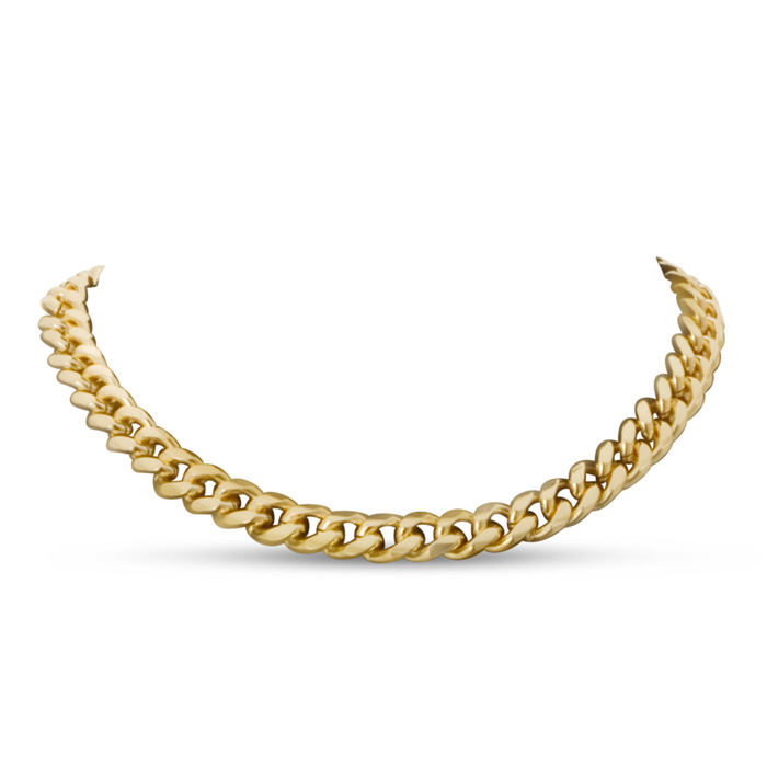 Gold Standard Link Necklace by Passiana
