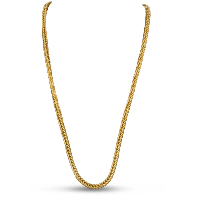 Wheat Chain Necklace by Passiana