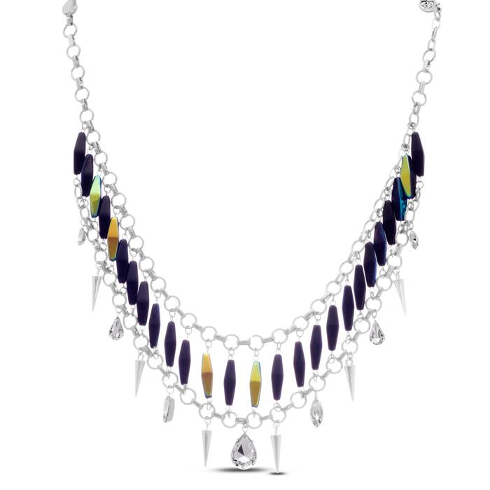 Midnight Single Strand Necklace by Passiana