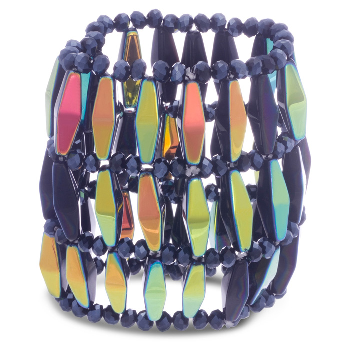Midnight Statement Bracelet by Passiana