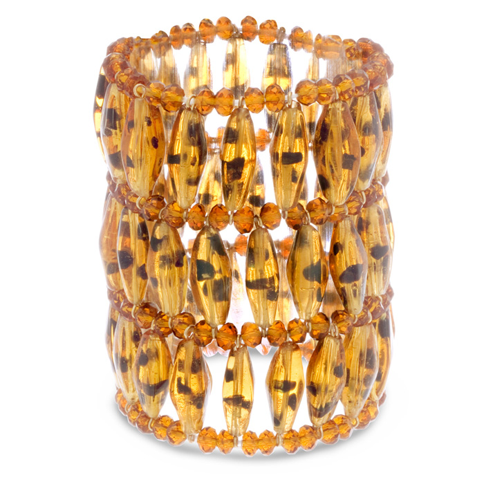 Tortoise Statement Bracelet by Passiana