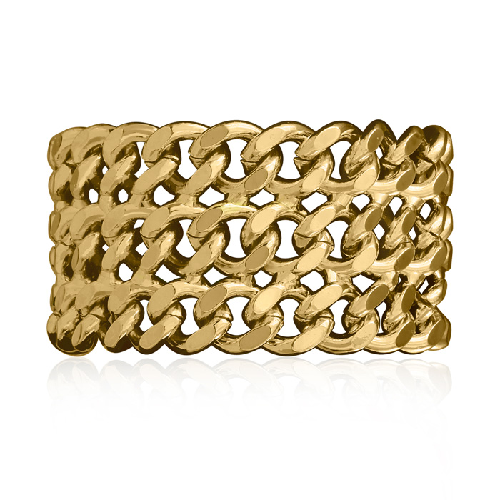 Gold Chain Bracelet by Passiana