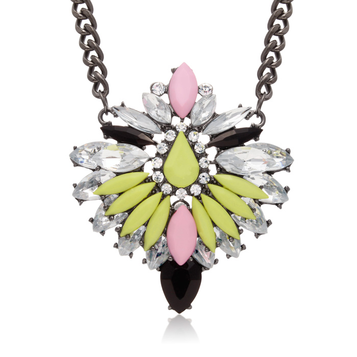 Cotton Candy Chain Necklace by Passiana