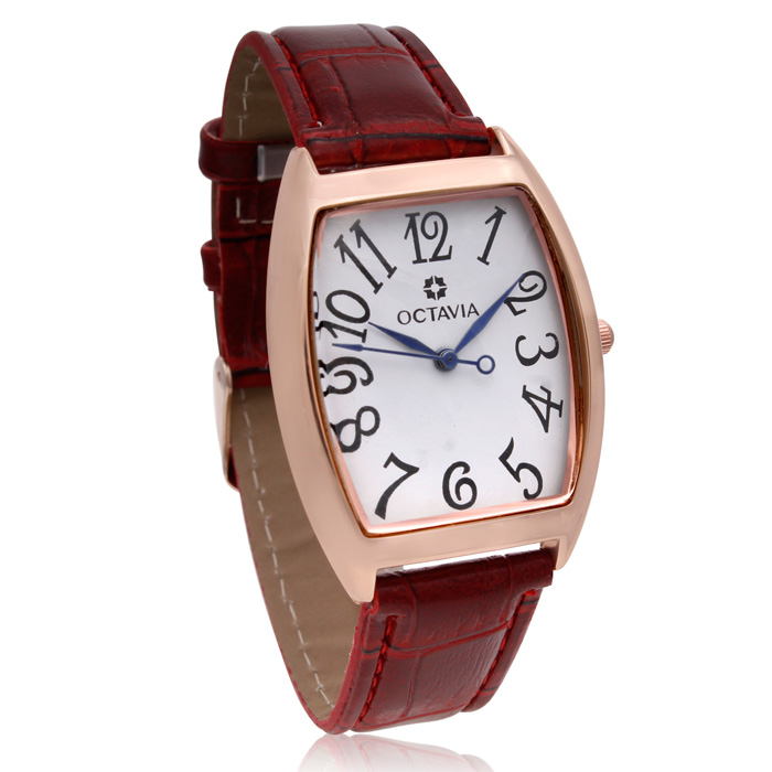 Image of Octavia Women's Amelia Watch - Wine