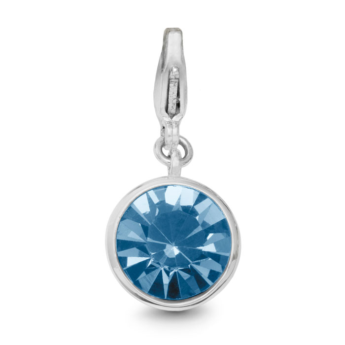 Image of Aquamarine Crystal Birthstone, For March Babies