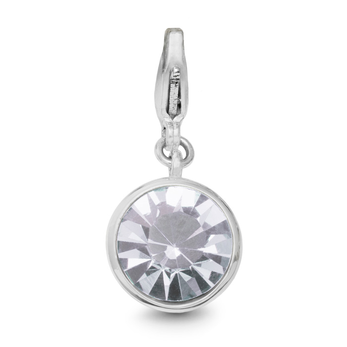 Image of White Crystal Birthstone, For April Babies-White