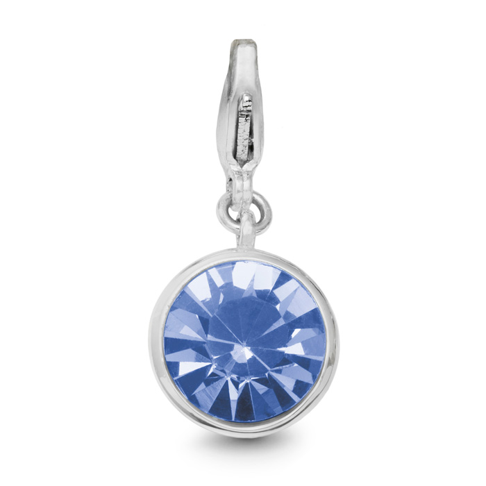 Image of Tanzanite Crystal Birthstone, For December Babies-White