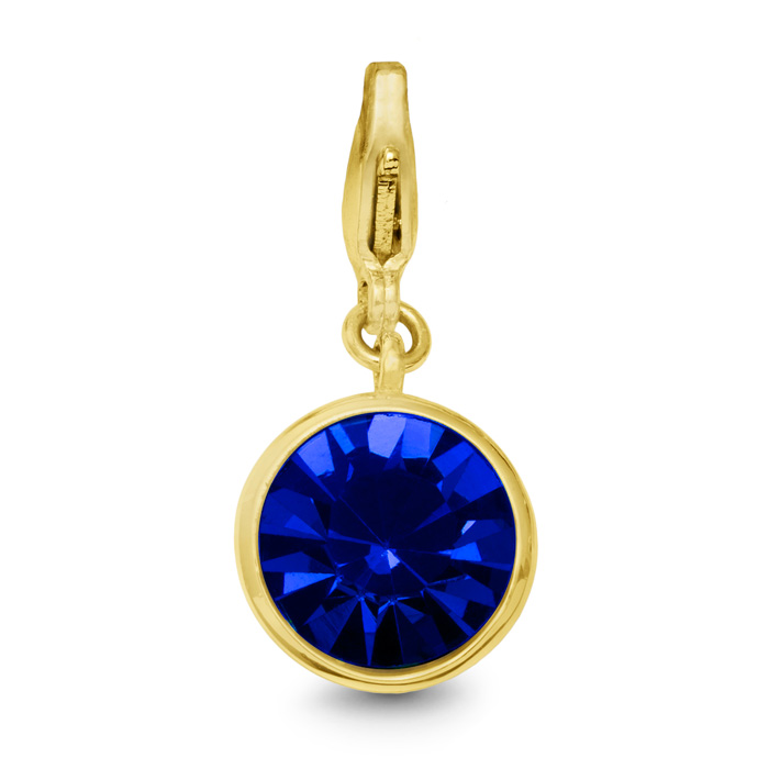 Image of Sapphire Crystal Birthstone, For September Babies-Yellow