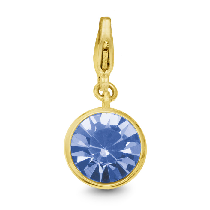 Image of Tanzanite Crystal Birthstone, For December Babies-Yellow