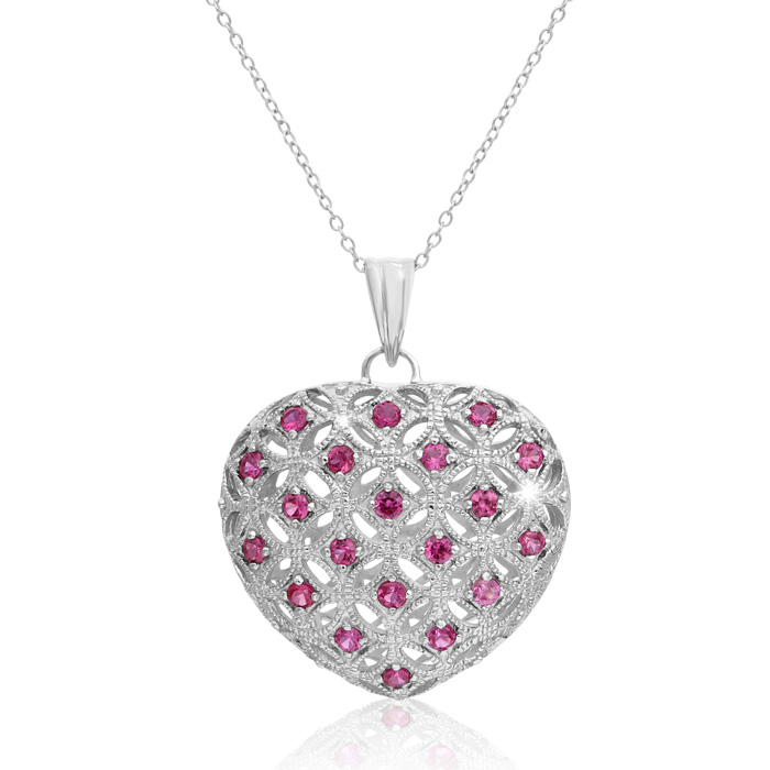 Jewelry Necklaces CZ Cheryl M Sterling Silver CZ LOL 18in Necklace
