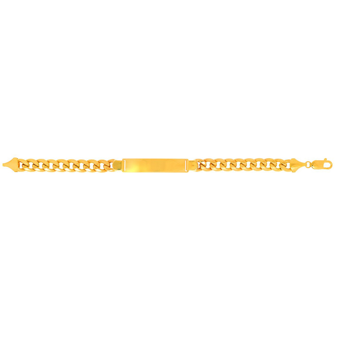 14K Yellow Gold (24.8 g) 9.2mm 8.5 Inch Light Miami Cuban Link ID