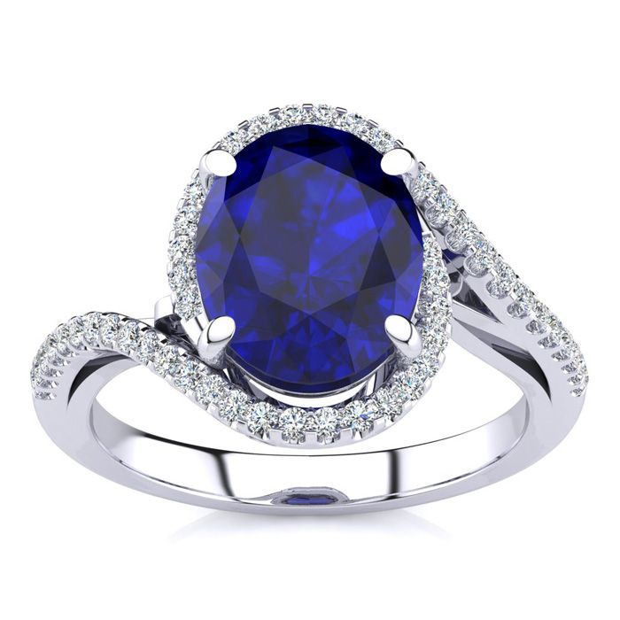 clara blue astrological plated neelam ratti panchdhatu for gold product sapphire carat ring