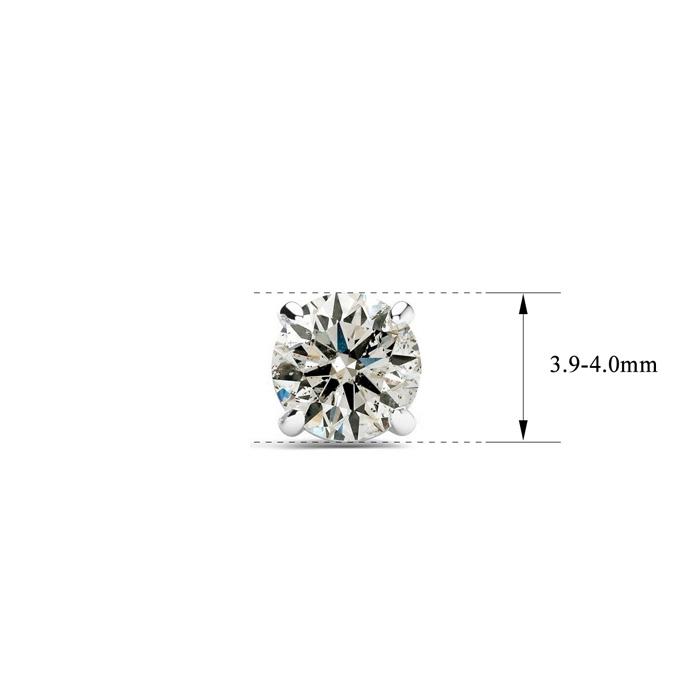 d5653cf93287dd 1/2ct Diamond Stud Earrings in 14k White Gold | SuperJeweler.com
