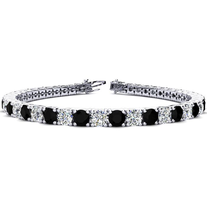 7 Inch 9 1/2 Carat Black and