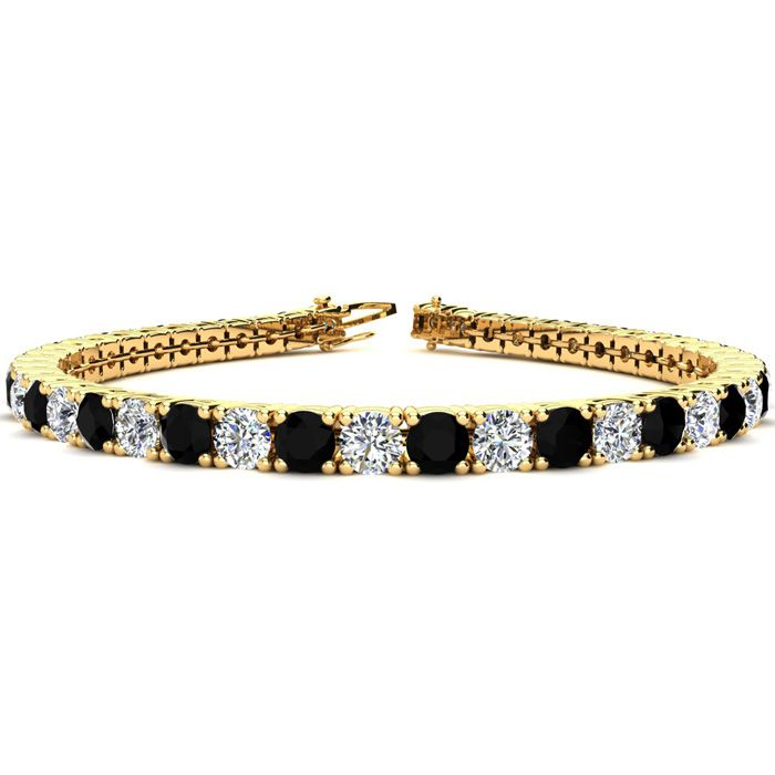 9 Inch 11 3/4 Carat Black and