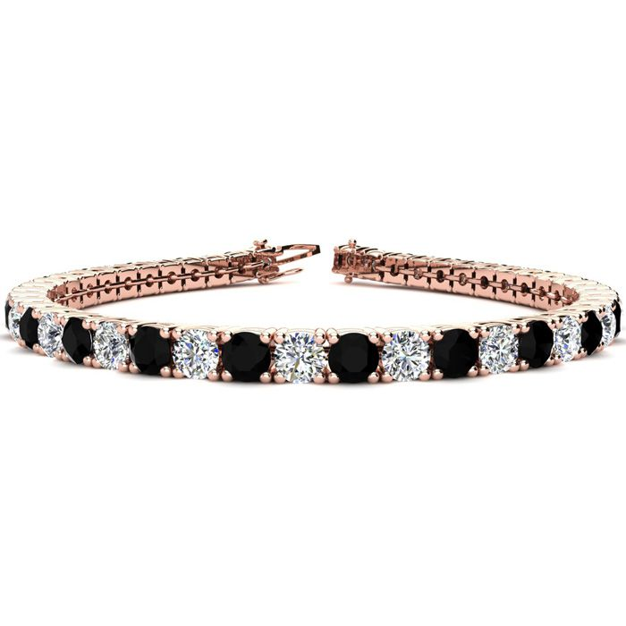 6.5 Inch 8 1/2 Carat Black and