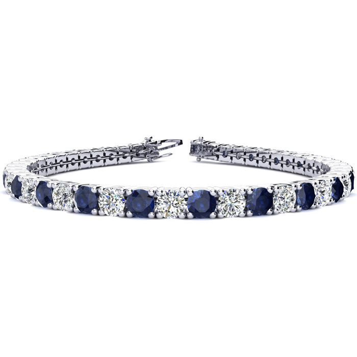 7.5 Inch 11 3/4 Carat Sapphire and