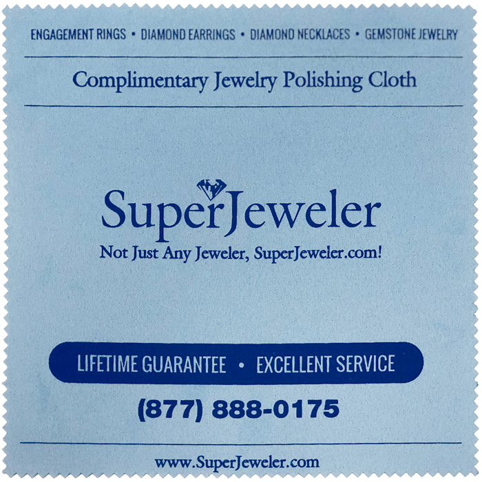 Image of SuperJeweler Jewelry Polishing Cloth
