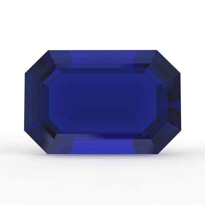 AAA Quality Emerald Cut Sapphire