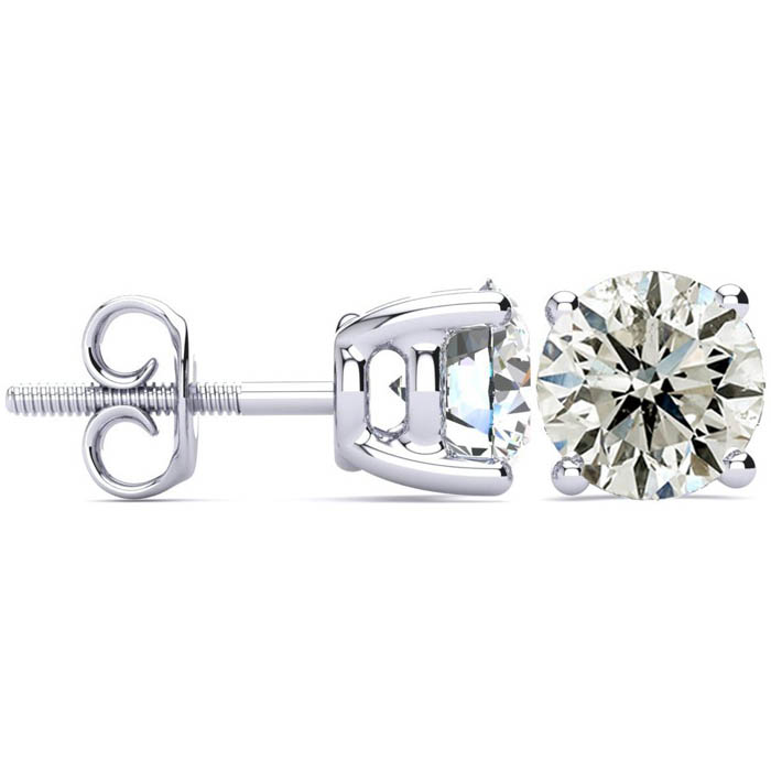 Special Purchase! 3 Carat Diamond Stud Earrings