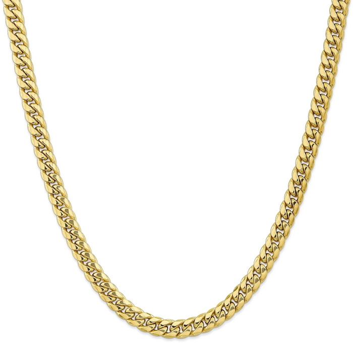 14K Yellow Gold (43.30 g) 9.3mm Miami Cuban Chain Necklace