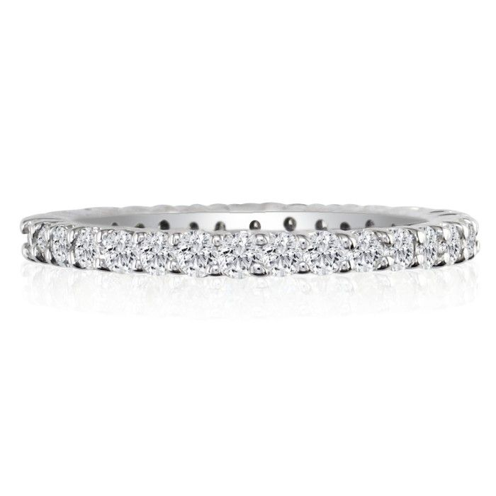 1/2ct Diamond Eternity Band in 14k White Gold 5753