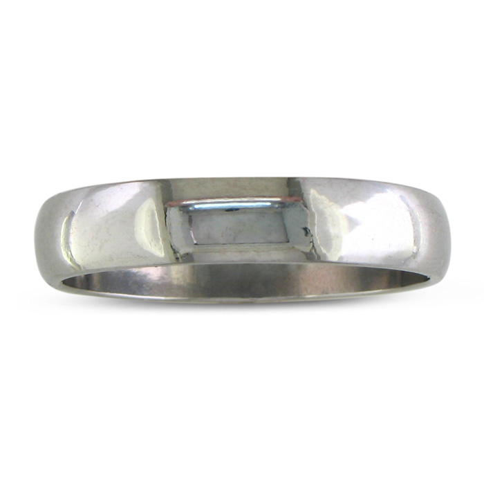 Image of Classic 5mm Stainless Steel Wedding Band