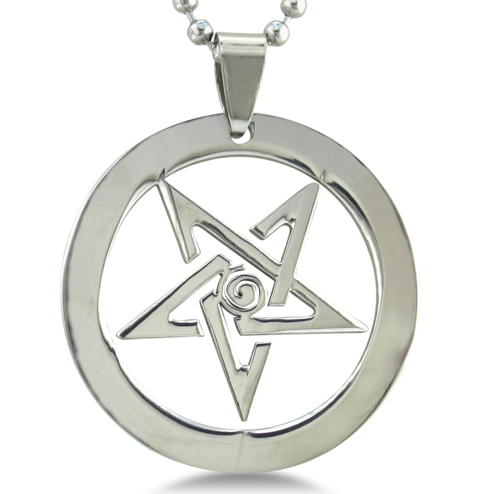 Image of Stainless Steel Star Pendant