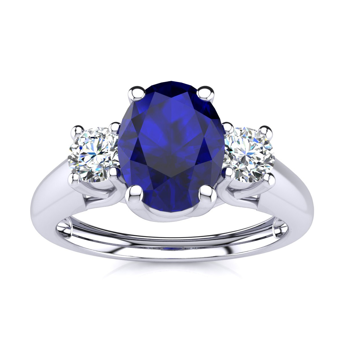silver fashion cocktail beloved faux sapphire princess zirconia blue cz celebrity cubic carat sparkles ring diamond trendy solitaire nadine products cut