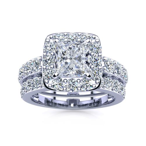2-25ct-princess-cut-halo-diamond-bridal-set-in-14k-white-gold