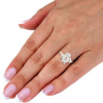 Super Cute Penguin Shaped Freshwater Pearl Ring