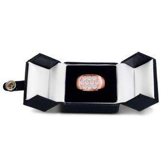 Men's 2ct Diamond Ring In 10K Rose Gold, I-J-K, I1-I2