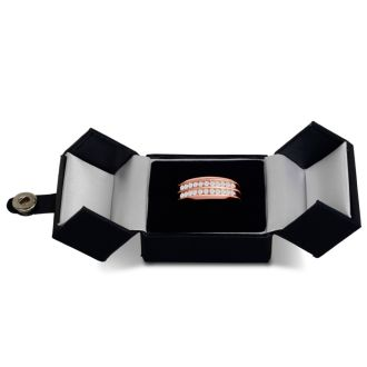 Men's 2/3ct Diamond Ring In 10K Rose Gold, I-J-K, I1-I2