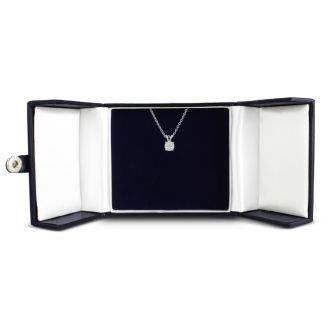 3/4ct 14k White Gold Diamond Pendant