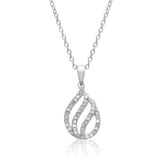 1/4ct Diamond Teardrop Necklace