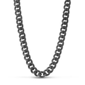 Gunmetal Standard Link Necklace