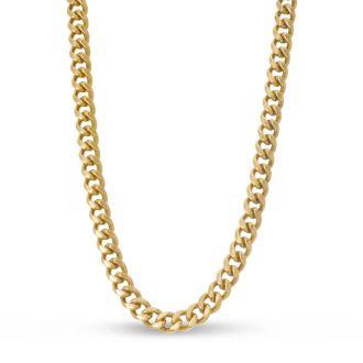 Antique Gold Standard Link Necklace