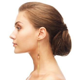 Tortoise Spike Earrings