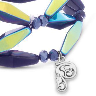 Midnight Geometric Bracelet