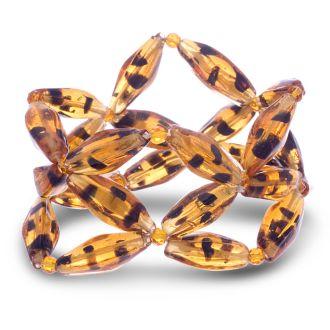Tortoise Geometric Bracelet