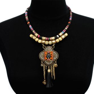 Tribal Tassel Necklace