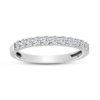 1/3ct Diamond matching wedding band matching to JWL11741 ( 2.25ct Princess Diamond Bridal Set in 14k White Gold)