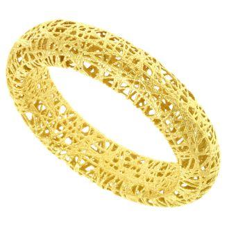 14k Yellow Gold 5mm Mesh Ring