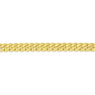 14 Karat Yellow Gold 5.0mm 22 Inch Miami Cuban Chain