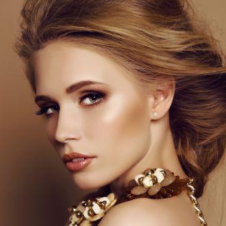 1 Carat Bezel Set Diamond Stud Earrings Crafted In 14 Karat Yellow Gold