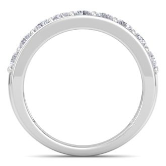 Brand New 1 Carat Natural, Earth-Mined Diamond Wedding Ring in Solid White Gold, At An Amazing Low Price!