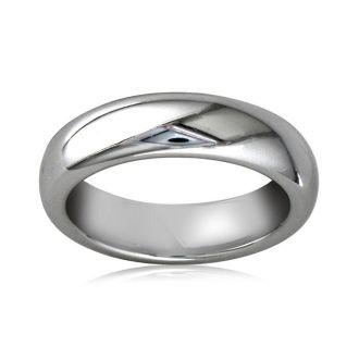 5mm Comfort Fit Tungsten Wedding Band