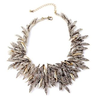Crystal Complex Statement Necklace
